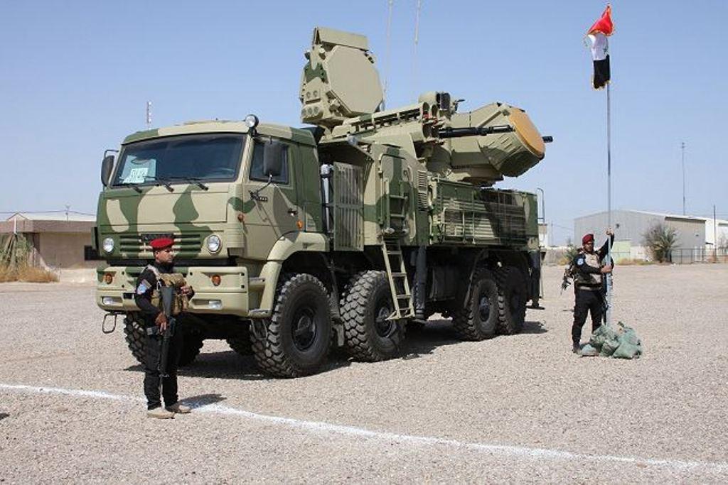 Iraq Receives Last Batch of Pantsir-S1 Combat Vehicles