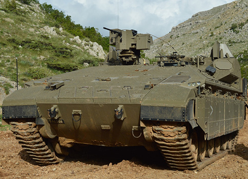 Israel Releases New Details of Next-Generation Armored Vehicle