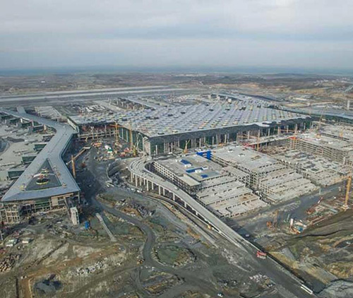 Istanbul's New €10 Billion Airport Now 80% Complete