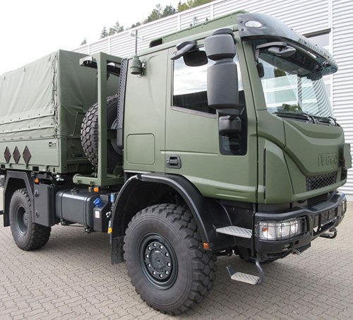 Iveco DV to Supply 280 Military Trucks to Germany