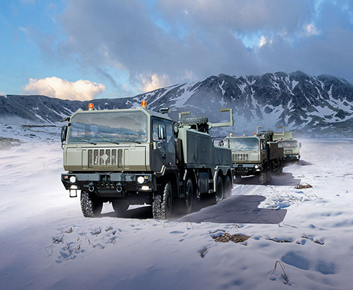Iveco DV to Supply First Batch of 942 Trucks to Romanian Armed Forces
