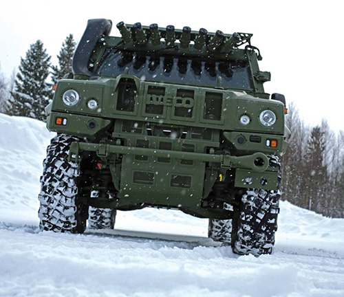 Iveco Defence Vehicles Delivers Last 62 Light Armoured Vehicles to Norway
