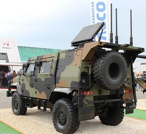 Iveco Defence Vehicles Displays Latest Vehicles at Eurosatory