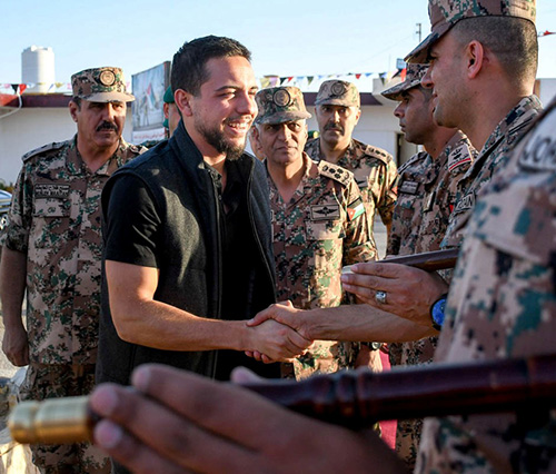 Jordan's Military Command Celebrates Crown Prince