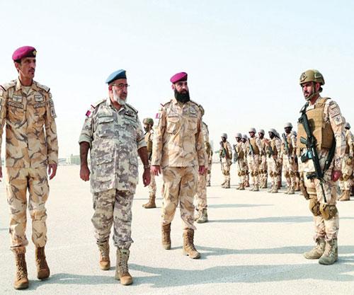 Jordan Joins 'Impregnable Guard' Military Drill in Qatar