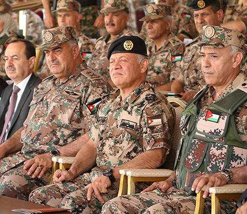 Jordanian King Attends Medical Evacuation Drill
