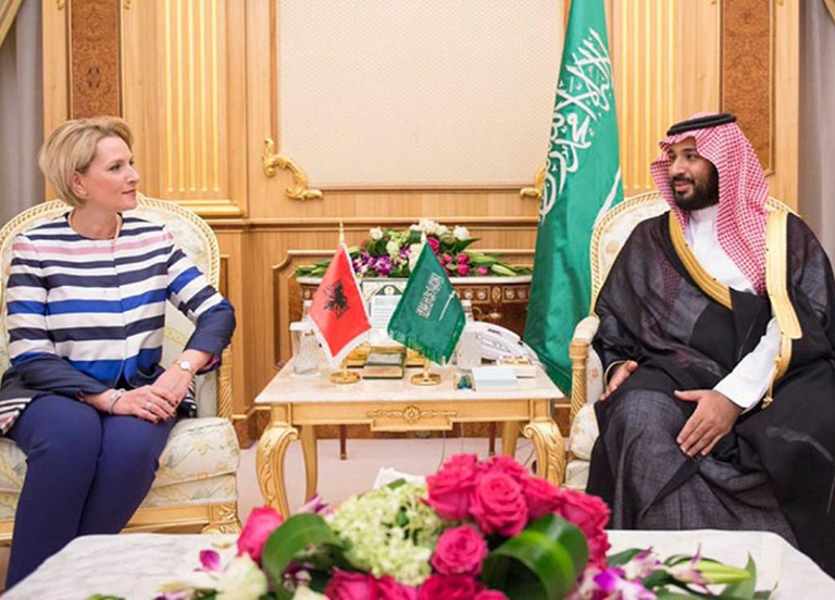 Saudi Deputy Crown Prince Meets Albania Defense Minister