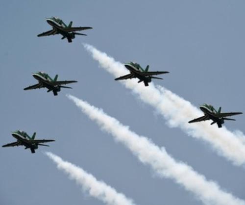 Saudi Falcons Mark Pakistan's 70th Anniversary