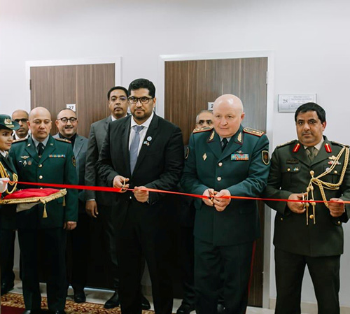 Kazakh National Defense University Hosts UAE Hall