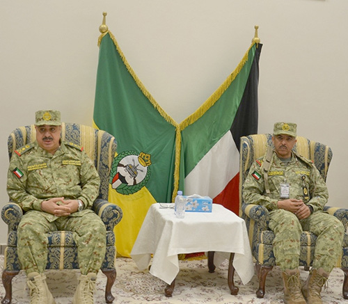 Kuwait National Guard Undersecretary Opens CBX-16 Command Center Drill