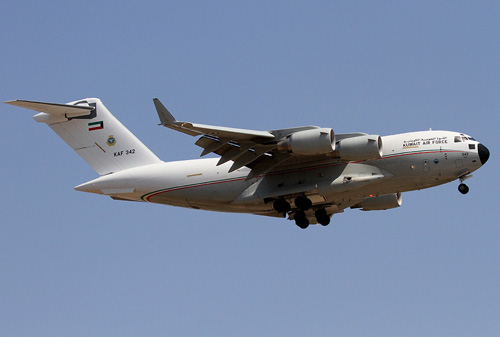 Kuwait Requests Continuation of C-17 Logistics Support