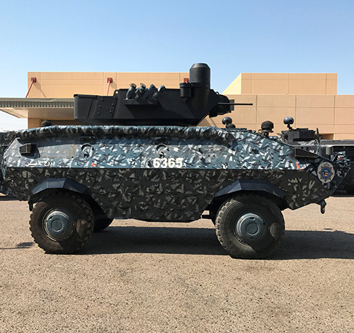 Kuwait to Get Thales Turret & Surveillance Solution for Armored Vehicles