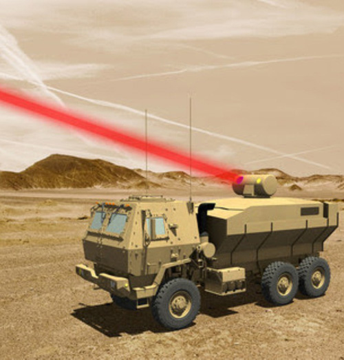Lockheed Martin to Deliver 60kW Laser to U.S. Army