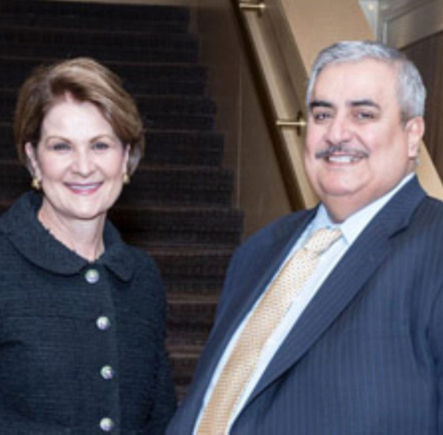 Bahrain's Foreign Minister Meets Lockheed Martin's CEO