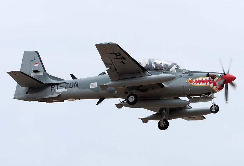 Lebanese Air Force Acquires Six A-29 Super Tucano