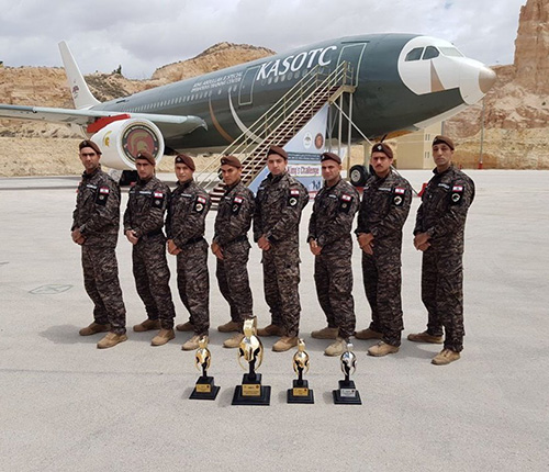 Lebanon's Panthers Win Warrior Competition in Jordan