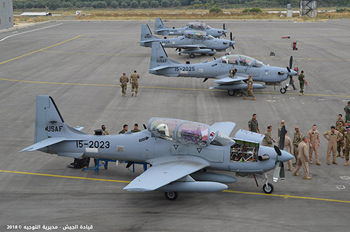 Lebanon Receives Second Batch of 4 Super Tucano Aircraft