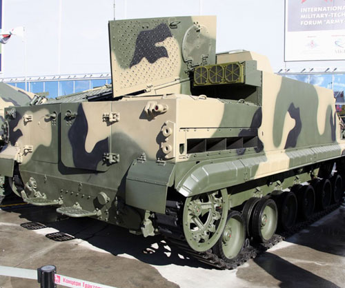 BT-3F Tracked Amphibious Armored APC
