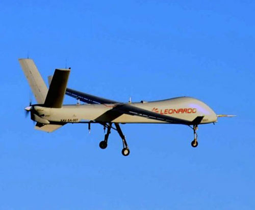 Leonardo's Falco Xplorer Drone Completes First Flight