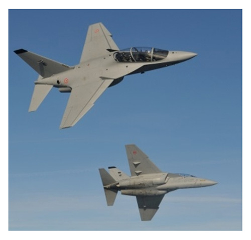 Leonardo Delivers 18th M-346 to Italian Air Force