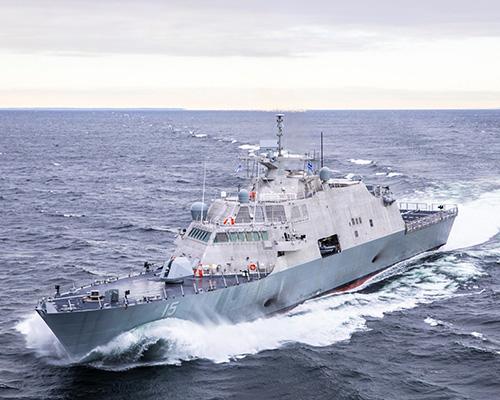 Littoral Combat Ship (LCS) 15 Completes Acceptance Trials