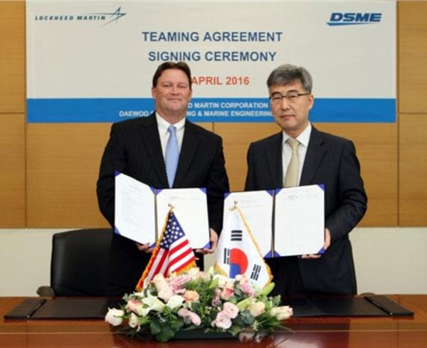 Lockheed Martin, DSME to Co-Build Multi-Mission Combat Ships