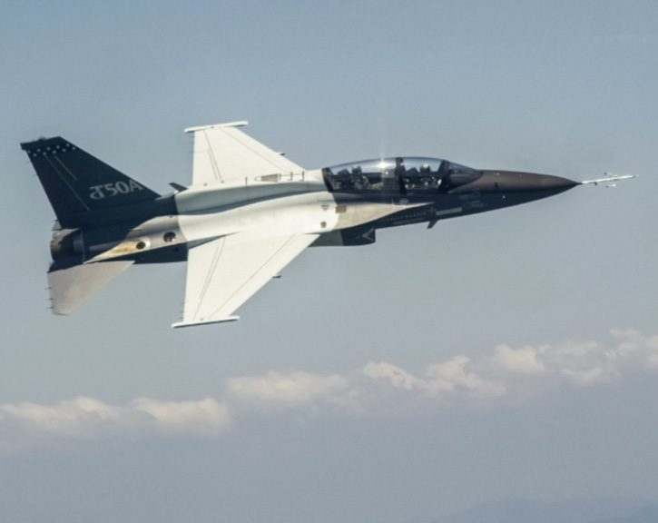 Lockheed Martin Flies First T-50A Upgraded Aircraft