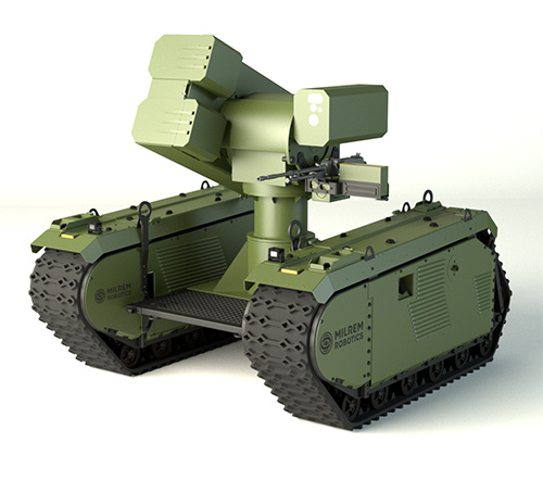 MBDA, Milrem Robotics to Develop Anti-Tank Unmanned Ground Vehicle