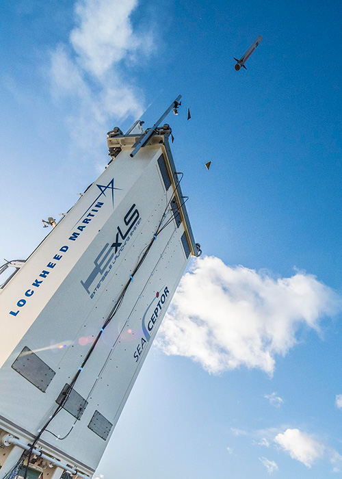 MBDA's CAMM Completes Qualification From LM's ExLS Launcher