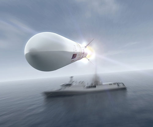 MBDA's Sea Ceptor to Protect Royal Navy's New Type 31 Frigates