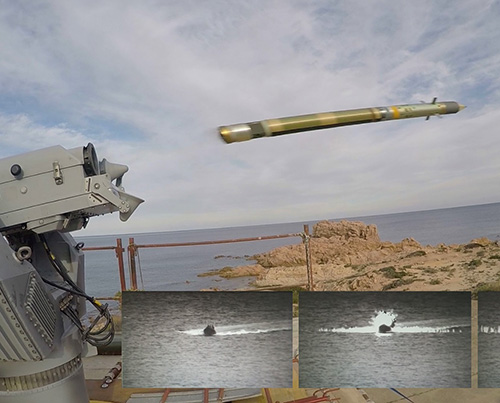 MBDA Demos Anti-Surface Capabilities of Mistral Missile