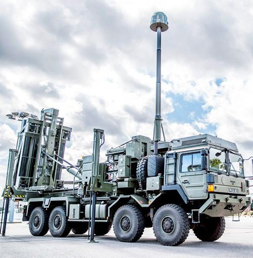 MBDA's Land Ceptor Air Defense System Debuts at DSEI