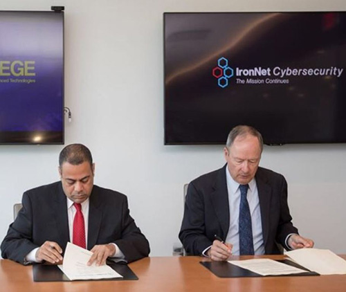 MBS College of Cyber Security, IronNet Sign Partnership Agreement