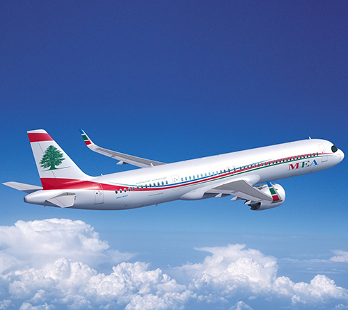 Middle East Airlines Orders Four Airbus A321XLRs