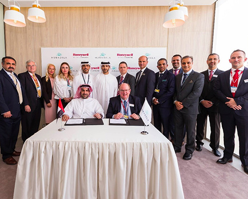 Mubadala, Honeywell Sign MoU at Dubai Airshow