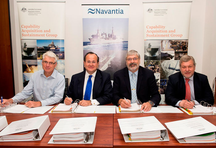 NAVANTIA to Supply Two AORs Ship to Australia