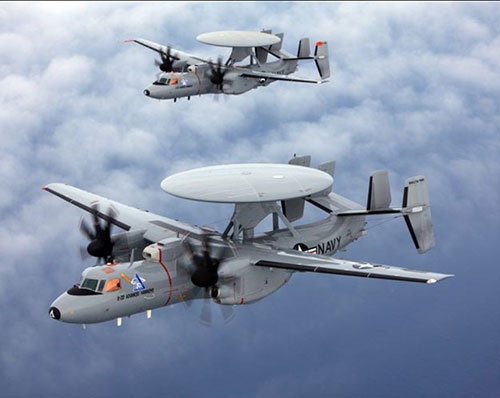 NGC Wins Multi-Year Contract for 24 E-2D Aircraft