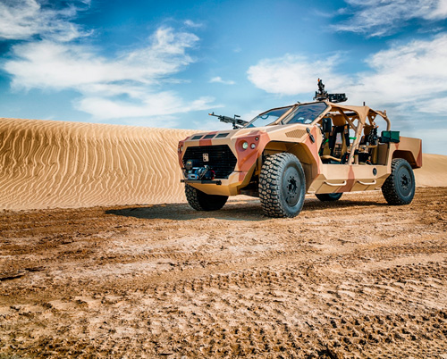 NIMR Automotive Unveils Rapid Intervention Vehicle at IDEX
