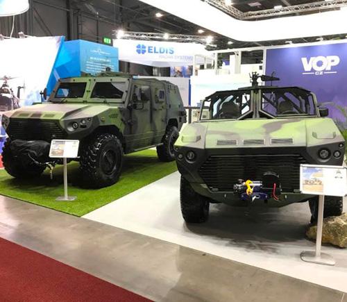 VOP CZ, NIMR Automotive Unveil First Joint Military Vehicle