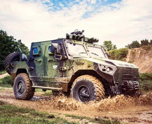 VOP CZ, NIMR Showcase AJBAN 440A at MSPO Exhibition
