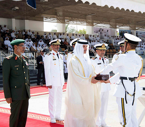 Naval College in Abu Dhabi Hosts Graduation Ceremony