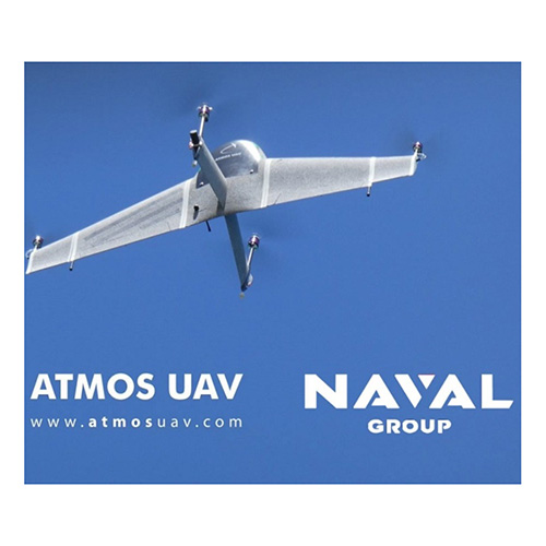 Naval Group Selects Atmos UAV for UAS Testing