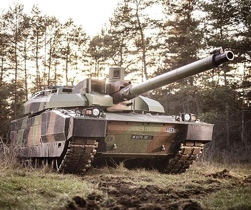Nexter, CKP Engineering Experiment Predictive Maintenance on Leclerc Tank