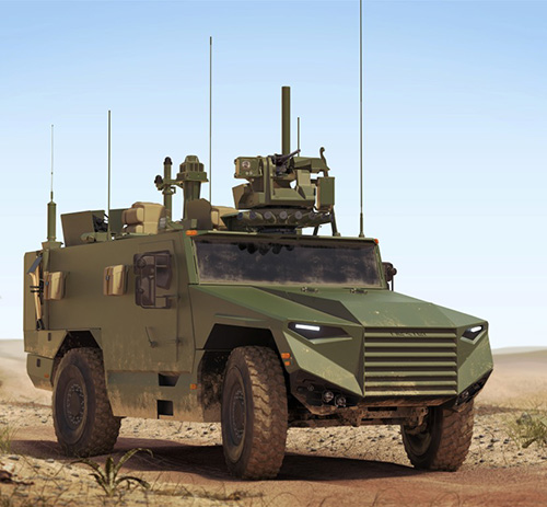 Nexter, Texelis Win French Army's Lightweight VBMR Contract