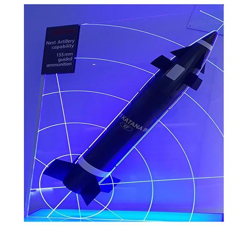 Nexter Offers Enhanced 155 mm KATANA Guided Shell