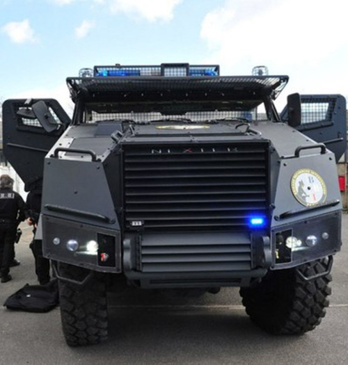 Nexter at the 20th Government Internal Security Exhibition
