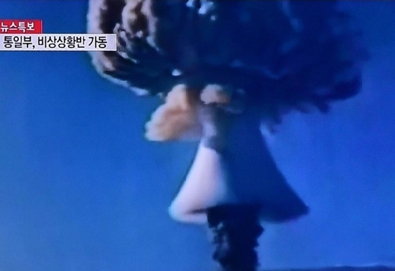 North Korea Conducts First Hydrogen Bomb Test