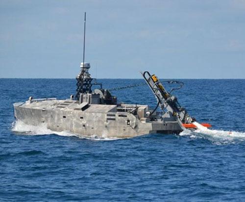 Northrop Grumman Completes Initial In-Water Testing of AQS-24 Mine Hunting Sonar