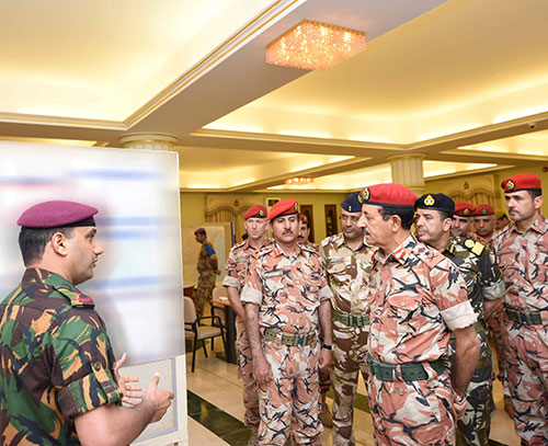 Oman's Armed Forces Chief Visits Southern Horizon Exercise