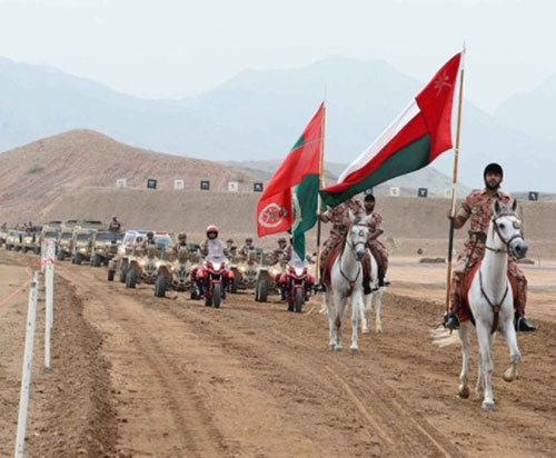Oman Celebrates Armed Forces Day